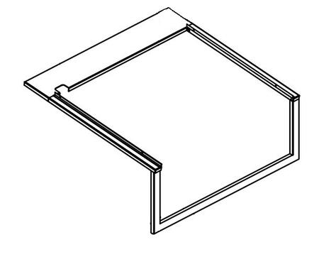 LIAK400 L400 Grill  18 Gauge  Island Adapter Kit Constructed from 304 Grade Stainless