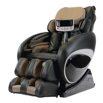 OS-4000T BLACK Massage Chair with 2 Stage Zero Gravity Massage  Unique Foot Roller  Computer Body Scan  38 Air Bags  Compact Wireless Controller and Full Size