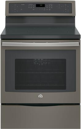 "PHB920EJES 30"" Free-Standing Convection range With Induction 5.3 Cu. Ft. Capacity 5 Elements True European Convection with Precise Air WiFi Connection in"