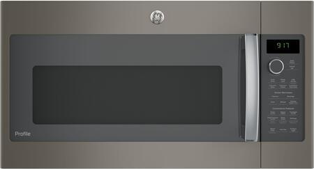 GE PVM9179EKES 30 Inch Slate Over the Range 1.7 cu. ft. Capacity Microwave Oven
