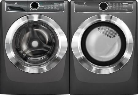 Titanium Front Load Laundry Pair with EFLS617STT 27