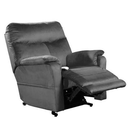 Cloud NM1750-OCL-A11 38 inch  Power Recliner Lift Chair with 3-Position Mechanism  Chaise Pad and Sinuous Spring with Pocket Coil Seat in