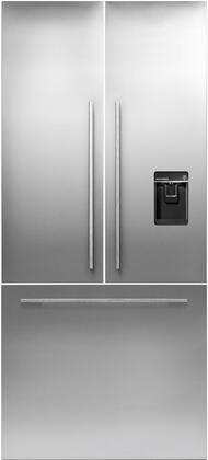 RD3684UUB French Door Stainless Steel Door Ice and Water Dispenser Unbranded Panel for RS36A80U1 at