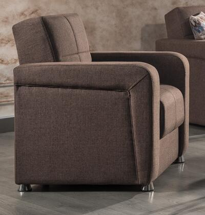 Harmony Collection HARMONY ARM CHAIR BROWN 37