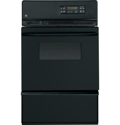 "GE 24"" Built-in Single Gas Wall Oven Black JGRP20BEJB"