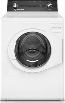 "FR3001WN 27"" Front Load Washer with 3.42 cu. ft. Capacity  9 Cycles  0.9 HP Motor Size  1200 RPM Spin Speed  in"