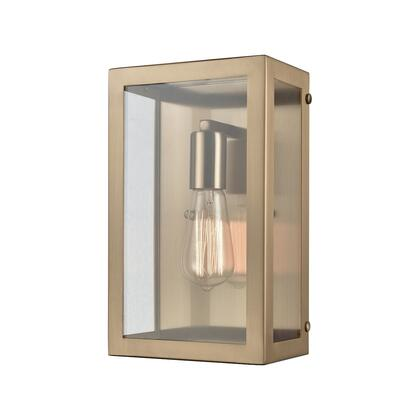630801_Parameters_1_Light_Sconce_in_Satin_Brass_with_Clear