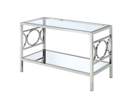 Click here for Rylee Collection CM4166CRM-S 47 Sofa Table with Si... prices