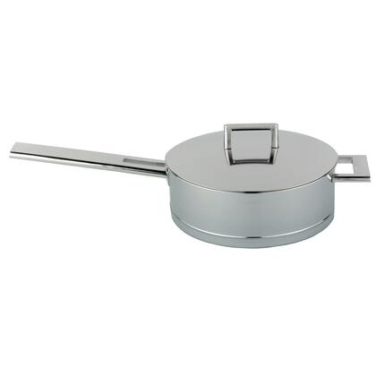 Demeyere 71428A71528 John Pawson 5.1-qt Stainless Steel Saute Pan with Helper Handle