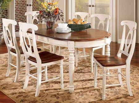 BRIMB6310 British Isles 76 Oval Dining Table with