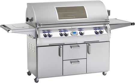 E1060S-4E1N-62-W Echelon Diamond Series Free Standing Natural Gas Grill 1056 sq. in. Cooking Area with Hot Surface Ignition and Cast E Burners a Window and