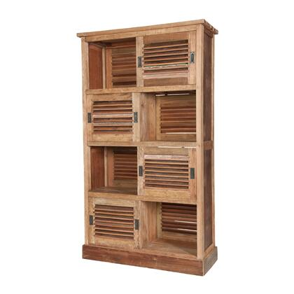 604008-B Reclaimed Louvred Cabinet