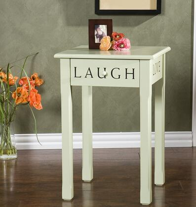 OC9154 Inspirations Green Cottage Accent Table  Looks Great In Any Room  Hand Painted