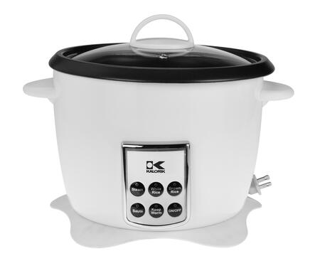 RC 41501 W White Multifunction Digital Rice Cooker with Retractable Power