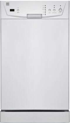 "WP9239 18"" Portable Dishwasher with 8 Place Settings  4 Wash Cycle  Quick Connect to Tap  3.54 Gallon Normal Cycle  Stainless Steel Interior and Electronic"