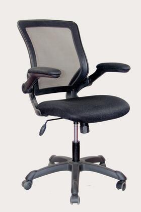 RTA-8050-BK Techni Mobili Mesh Task Chair with Flip-Up