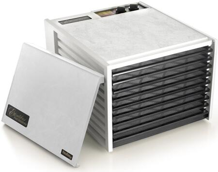 3926TW Deluxe Series Dehydrator with 9 Trays  15 Sq. Ft. of Drying Area  Adjustable Thermostat  26 Hour Timer  and 10 Year Limited Warranty in: