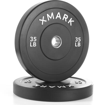 XM-3385-35-P XMark 35 lbs. Bumper Plates with Stainless Steel Inserts