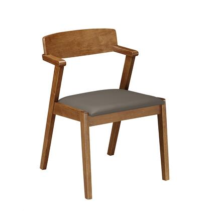 RTA-DCH41-WAL Home Wooden Dining Chair Two Piece