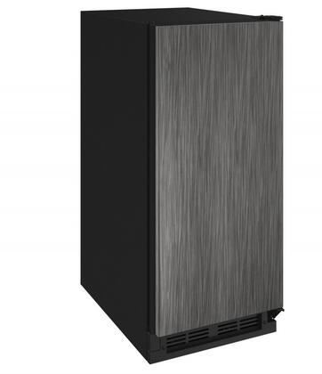 U-1215BEVINT-60A 15 inch  1000 Series Beverage Center with 3 cu. ft. Capacity  Passive Cooling System  2 Glass Shelves  2 Wine Racks  and Reversible Door  in Panel