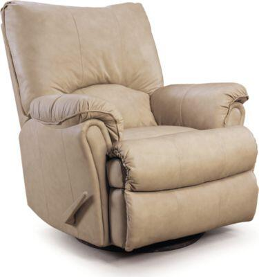2053-167/5767-22 Lane Alpine Pad-Over-Chaise Glider Recliner in Godiva (Special Order