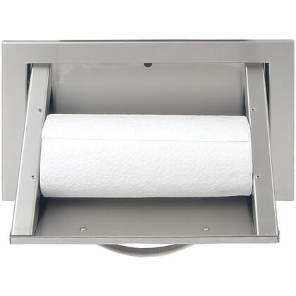 "AB-TH 17"" Built In Rolling Paper Towel Holder With Stainless Steel Polished Handle  Spring Loaded Hardware  and All Commercial Stainless Steel Construction in"