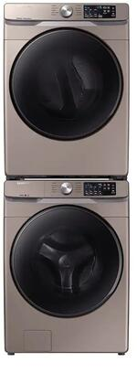 Front Load Laundry Pair with WF45R6100AC 27