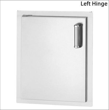 53920-SL Flush-Mounted Series Single Access Door with Left Door Hinge: Stainless