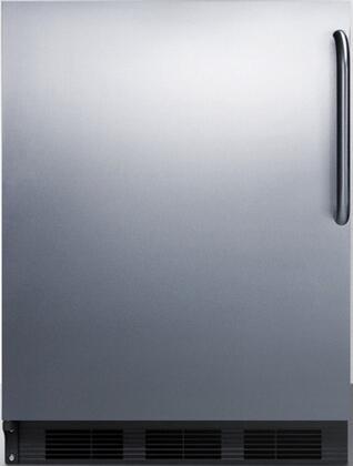 CT66BBISSTBLHD 24 inch  CT66JBI Series Medical Freestanding or Built In Compact Refrigerator with 5.1 cu. ft. Capacity  Interior Lighting  Zero-Degree Freezer