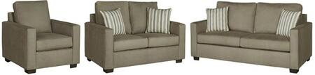 Colson U2021-SLC 3-Piece Living Room Set with Stationary Sofa  Loveseat and Chair in