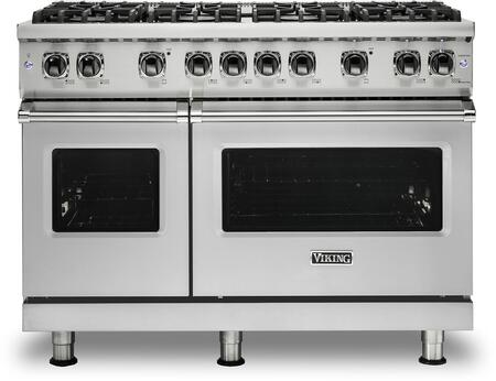 Viking VGR5488BSS 48 Professional 5 Series Freestanding Natural Gas Range with Sealed Burner Convection Oven