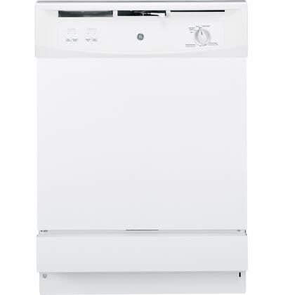 "GE Spacemaker 24"" Built-In Dishwasher White GSM2200VWW"