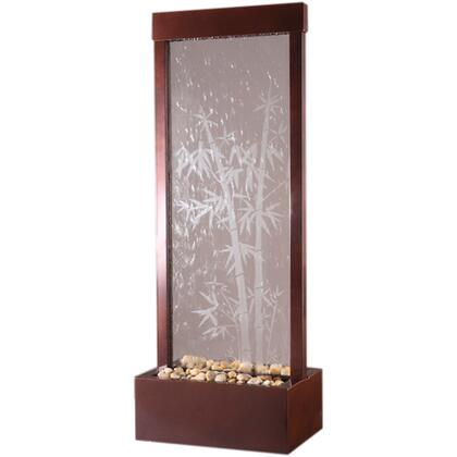 GF42B 4' Dark Copper Bamboo Gardenfall With Bamboo Etched Surface & Dark Copper