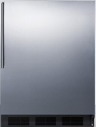 FF6BSSHVADA 24 inch  FF6ADA Series ADA Compliant Medical Freestanding Compact Refrigerator with 5.5 cu. ft. Capacity  Automatic Defrost  Hidden Evaporator