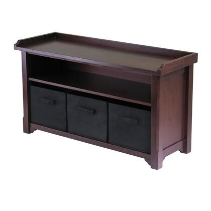 94201 Verona Storage Bench with 3 Foldable