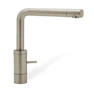 440693 Kitchen Faucet Without Side Sprayer In Satin