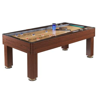 NG1201 Ricochet 7 Ft. Bounce-Back Shuffleboard Table in Cherry 769247