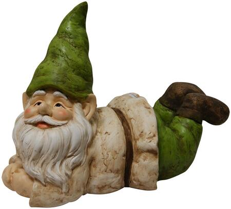 GXT496 Gnome Laying Down Statuary  13