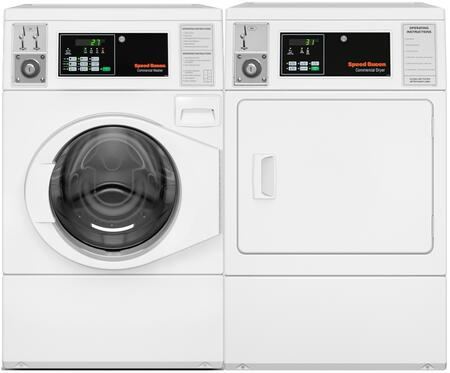 White Front Load Laundry Pair with SFNNCASP115TW01 27