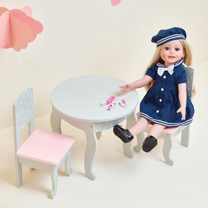 TD0208AG 18 inch Doll Furniture - Table and Chair Set