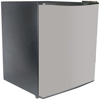 Avanti AR24T3S 2.4CF All Refrigerator Black W/Stainless Steel