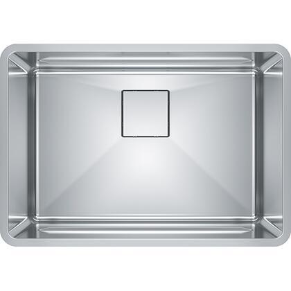 PTX110-25 Pescara 26 1/2 inch  Single Bowl Undermount Stainless Steel Kitchen