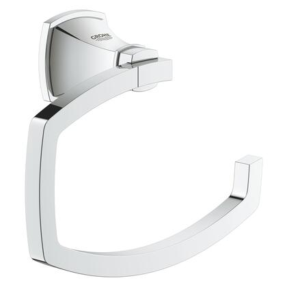 Grohe 40625000 Grandera Toilet Paper Holder, Starlight