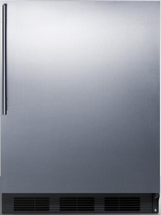 FF7BBISSHV 24 inch  FF7BI Series Medical  Commercial Freestanding or Built In Compact Refrigerator with 5.5 cu. ft. Capacity  Adjustable Spill Proof Glass Shelves