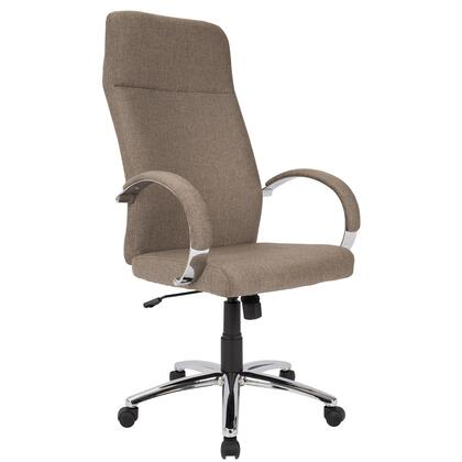 OFC-AC-AMB BN Ambassador Contemporary Office Chair in Brown