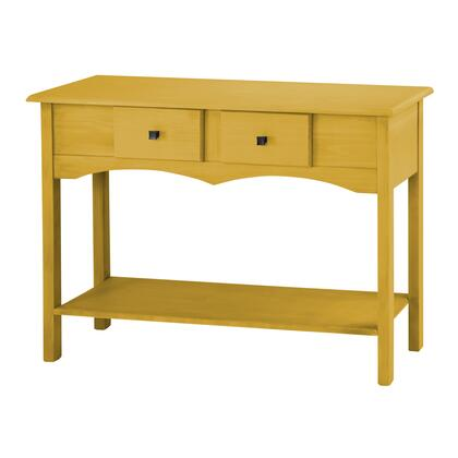 "Jay 2.0 Collection CS51002 49"" Sideboard Entryway with 2 Full Extension Drawers and Lifted Base in Yellow"