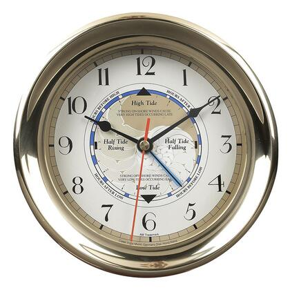 SC042 Captain's Time & Tide Clock with Brass Material  in