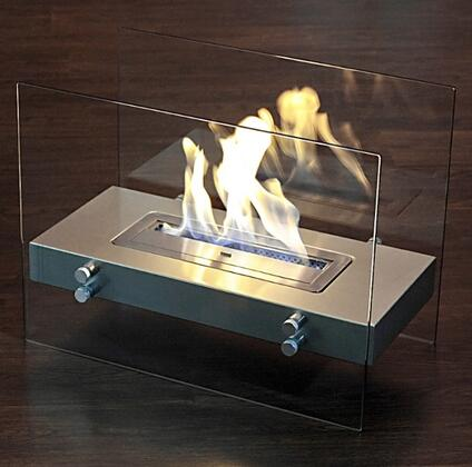 BR-06 Murano Series 23.5 inch  Wide Portable Bioethanol Fireplace: Antique