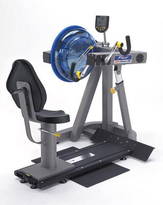 Evolution Series UB-E820 Upper Body Ergometer with 20 Levels of Variable Fluid Resistance  Fixed Crank Arms  Adjustable Seat and Interactive Performance