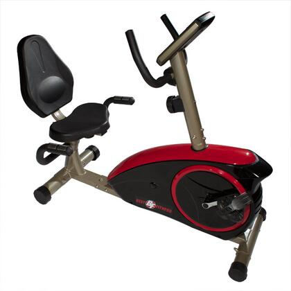 BFRB1 Best Fitness Recumbent Bike with Contact Heart Rate Monitor and Five Panel LCD Display  Up to 8 Levels of